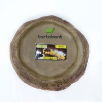 FEEDING DISH ROUND size M - TEMPAT MAKAN KURA - TEMPAT MAKAN REPTIL