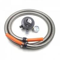 Regulator Gas RINNAI RG 622 MS Selang Gas LPG Spiral paket tajirniaga