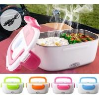 Electric Lunch Box Kotak Makan Penghangat Panas Warmer Power Lunch Box