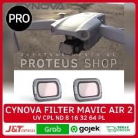 ✅ CYNOVA LENSA FILTER UV CPL ND 8 16 32 64 PL LENS DJI Mavic Air 2