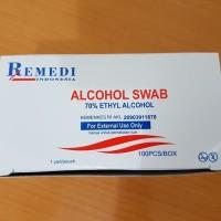 Tisu Alkohol Remedi / Alcohol Swab
