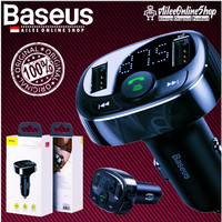Baseus Car Charger FM Transmitter Modulator MP3 Player Bluetooth