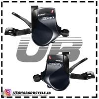 Shifting Levers Shifter 2x9 Speed Shimano Sora R3000 Flat Bar