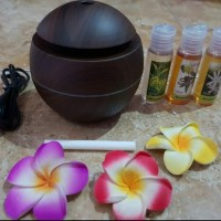Paket Humidifier Super Murah Plus 3 Botol Essential Oil