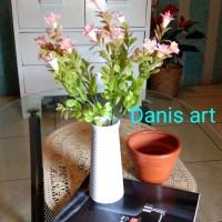 set mini terompet/ bunga plastik/ Bunga hias/ bunga palsu
