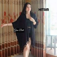 Outer Cardigan Polos Outfit Murah
