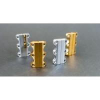 ZUBITS Gold & Chrome - Magnet Pengikat Tali Sepatu