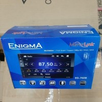 Head Unit Double Din Deckless ENIGMA EG-7028