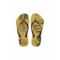 Sandal Anak Havaianas Kids Sl Glitter Fc 7598-Lemon Yellow - 27-28
