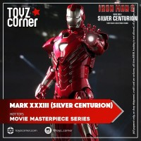 Hot Toys MMS-213 / MMS213 Iron Man Mark XXXIII Silver Centurion
