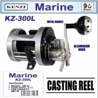 Baitcasting Reel KENZI - MARINE KZ-300L