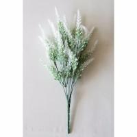 Bunga Plastik Artificial Snowy Lavender