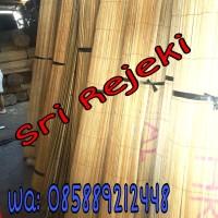 (Murah) Tirai kerai bambu 2x2 M (Tanpa Katrol) Kerai/kere/keray/krey