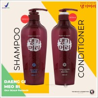 Daeng Gi Meo Ri Oily Scalp Hair Shampoo & Conditioner Package [2 pcs]
