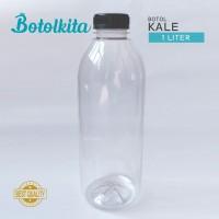 Botol Kale 1 Liter / Botol Plastik 1Liter - Putih