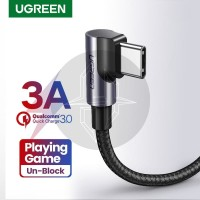 UGREEN 50942 Elbow Gaming USB Type C Kabel Data Fast Charging Charger