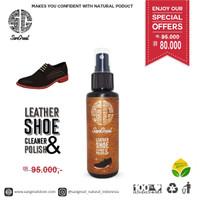 leather shoe cleaner and polish, pembersih sepatu kulit, semir sepatu