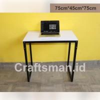 Meja Kerja Cafe Semi Lipat Minimalis 120cm * 60cm * 75cm