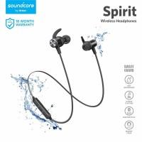 Earphone Bluetooth Soundcore Spirit Black - A3403