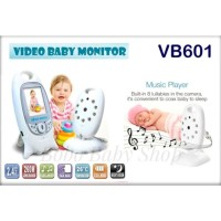 NEW Color Video Baby Monitor VB601 Night Vision 2.0 Inch - 2 Way Talk