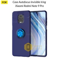 Case Xiaomi Redmi Note 9 Pro Autofocus Invisible Iring Soft Case