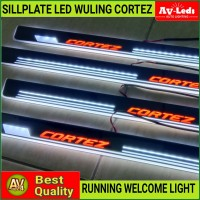 SILL PLATE SillPlate LED WULING CORTEZ WELCOME LIGHT (Audi Style)