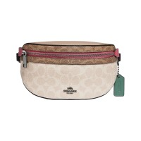 Coach Belt Bag Bethany In Blocked Signature Canvas F89301