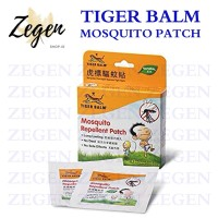Tiger Balm Mosquito Repellent Patch Isi 10 Patches Stiker Anti Nyamuk