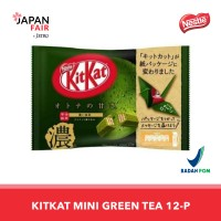 Cokelat Kitkat Mini Otona No Amasa Strong Green Tea 12P