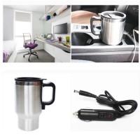 DC kettle electric car mug heating gelas pemanas air di mobil