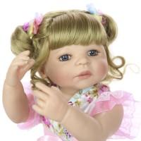 Dkx Mainan Boneka Bayi Reborn Tampak Asli Dengan Pakaian Beruang