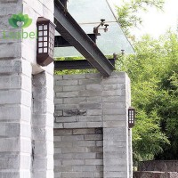 2 Pcs Solar Light Extended Version Zero Power Consumption Wall Lamp