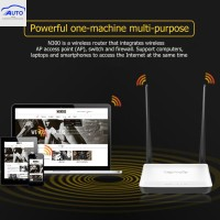 New♕Tenda N300 300Mbps Home Wireless WiFi Router Repeater