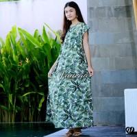 Daster Mega | Dress Vega Payung | Baju Midi Tidur | polos bali XXL 02