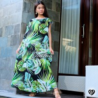 Dress Daster panjang jumbo xxl maxi ori vanzaa Bali 42
