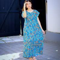 Dress Daster panjang jumbo xxl maxi ori vanzaa Bali 24