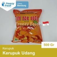 Kerupuk Udang / Shrimp Crackers, by Tan Pek Koen - stick