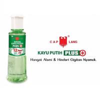 Minyak Kayu Putih Plus Anti Nyamuk 12 Jam CAP LANG 60 ml