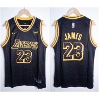 JERSEY BASKET NBA LAKERS #23 LEBRON JAMES CITY EDITION HITAM 19/20 (2)