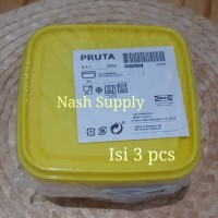 Lunch box 3 pcs by IKEA