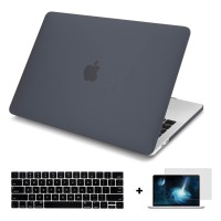 Batianda Hard Case Macbook Air 13 inch 2018/2019 Matte Black