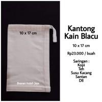 Kantong Kain ( 10 x 17 cm ) Saringan Kopi, Teh, Susu Kacang , dll