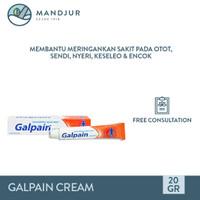Galpain Cream 20 Gram - Salep Pereda Nyeri Oto, Sendi, Keseleo