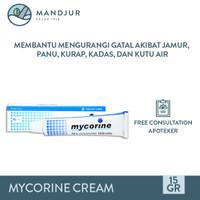 Mycorine Cream 15 Gr - Salep Gatal Jamur, Panu, Kurap, Kutu Air