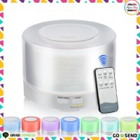 Essential Oil 500ml Aroma Diffuser Humidifier 7 LED Color Night Light