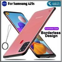Case Samsung A21s Hard Soft Casing UltraSlim Cover Galaxy A21s 2020