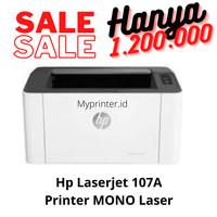 HP Laserjet 107a 107 a Monochrome Laser Printer (Toner HP 107A)