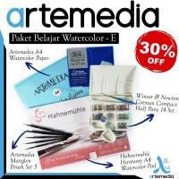 Paket Belajar Watercolor - E