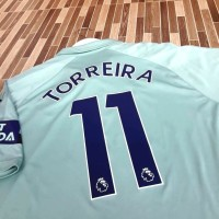 Jersey Arsenal 3rd Third Away 2018 Toreira Original Weston Singapore