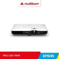 PROJEKTOR PROYEKTOR Epson EB-1781W Wireless WXGA 3LCD Projector